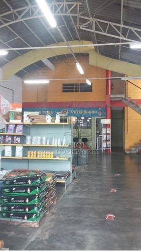 Galpão Para Alugar, 250 M² Por R$ 6.500,00/mês - Jardim São Caetano - São Caetano Do Sul/sp - Ga0376