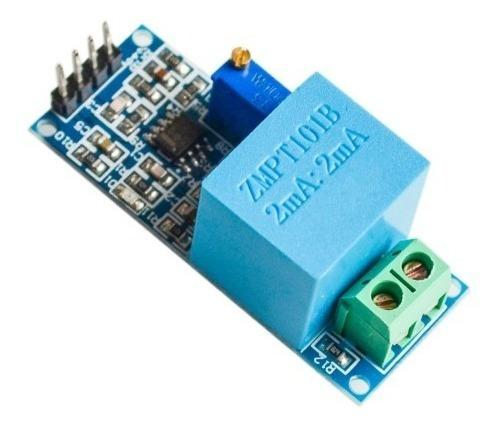 Sensor De Tensão Ac 0 A 250v Voltímetro Zmpt101b Arduino