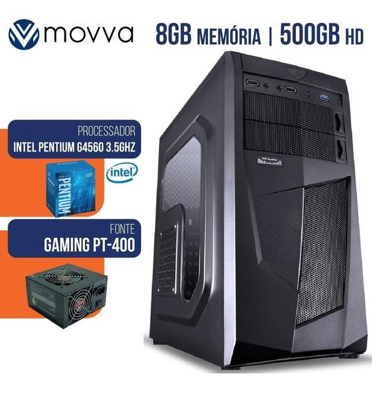 Computador Intel Pentium G4560 3.5ghz 7ª Geracao Mem 8 Gb
