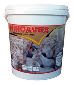 Aminoaves 5 Kg Núcleo P/ Misturar Ração Suplemento Agrocave