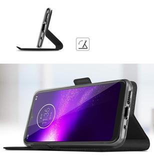 Funda Flip Cover Billetera Motorola G8 Plus G8 Play