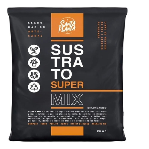 Sustrato Santa Planta Super Mix 25dm