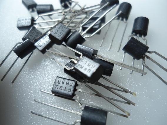 Transistor / Bf199 - Embalagem Com 10 Peças