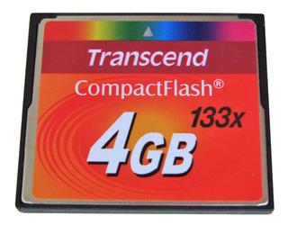 Memoria Compact Flash Transcend 4gb 133x Cf