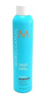 Moroccanoil Finish Extra Strong Spray Fijador Luminoso 330ml