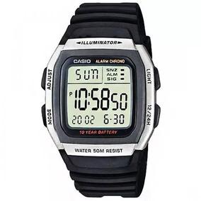 Relógio Casio Masculino Illuminator W-96h-1avdf (3239)