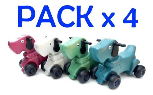 Imagen 1 de 10 de Andarin Perrito Pack X4 Por Mayor Pata Pata Super Simpatico