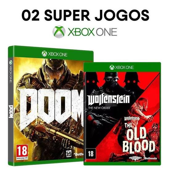 Doom + Wolfenstein: The New Order + Blood - Xbox One