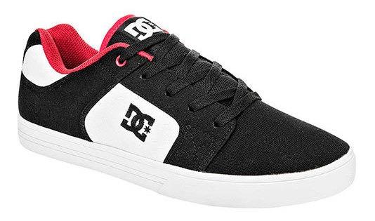 Tenis Hombre Pk 93541 Dc Shoes Negro