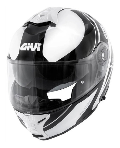 Capacete Givi X21 Globe Branco/preto 12x S/ Juros