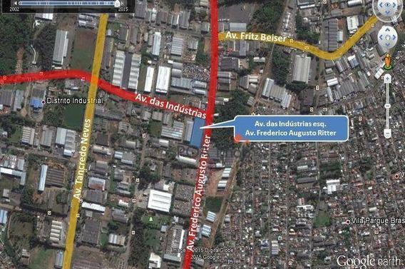 Terreno Comercial Para Locação, Distrito Industrial, Cachoeirinha. - Te0028
