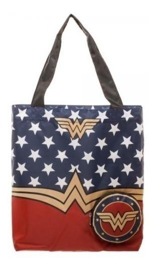 Bolsa Tiracolo Wonder Woman 100% Original E Importada