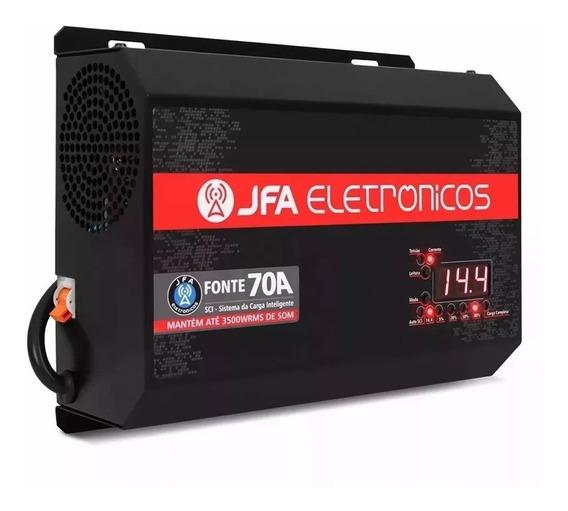 Fonte Jfa 70a Sci - Fonte Carregador Bateria Inteligent Full