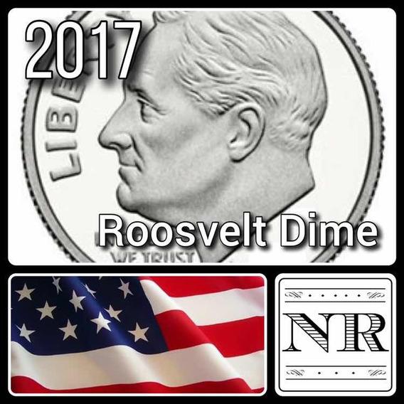 Dime 2017 P & D - 10 Cent Dolar - Eeuu - Roosvelt