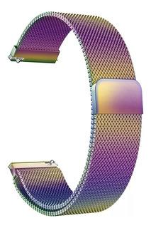 Pulseira Samung Galaxy Active Magnética Metal Milanese Cores