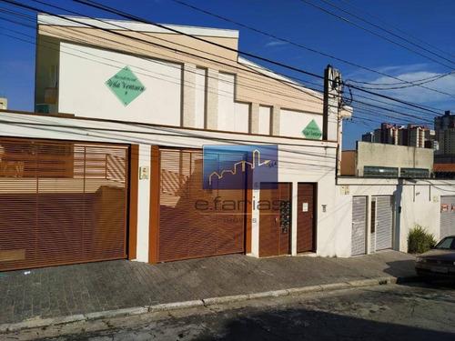 Sobrado Com 2 Dormitórios À Venda, 73 M² Por R$ 440.000,00 - Vila Esperança - São Paulo/sp - So0789