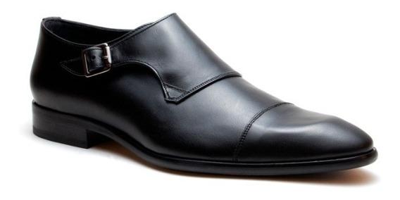 Zapatos Para Hombre Monk Strap Hebilla Piel De Ternera Duque