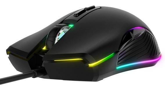 Mouse Gamer Havit Ms877 Rgb 7 Botões 2400 Dpi Ergonômico