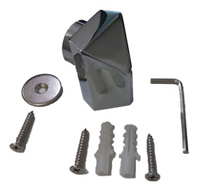 Prendedor Fixador Trava Porta Magnético 6un Cro. C2238