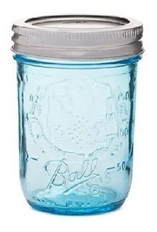 Frasco Ball Mason Jar 8oz 236ml Boca Regular Tarro Vaso