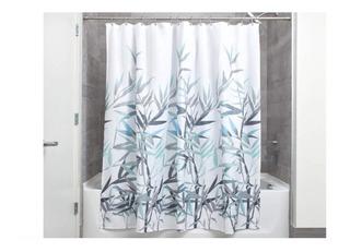 Cortina De Baño Diseño Floral Colores