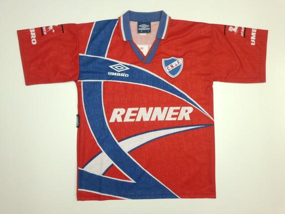 Camiseta Club Nacional De Football Alternativa 1996/97 Umbro