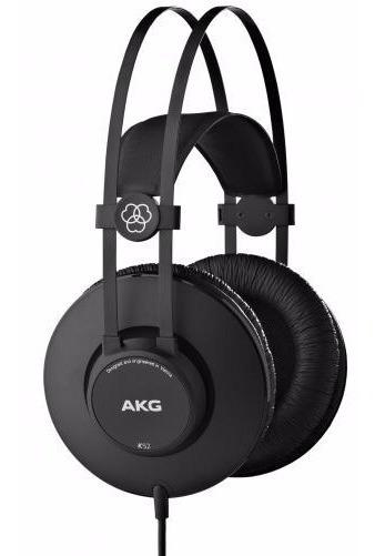 Fone Ouvido Profissional P/mix K52 Akg Over Ear - Original