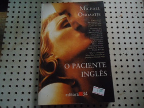 Livro O Paciente Inglês Michael Ondaatje N1800