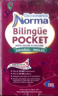 Diccionario Norma Bilingual Pocket Ingles/español