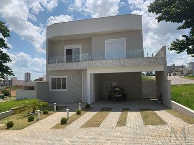 Casa 4 Dormitórios Em Condomínio Fechado- Jacareí - Ca3204