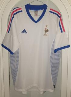 Jersey Seleccion De Francia Año 2002 adidas Talla Mediana