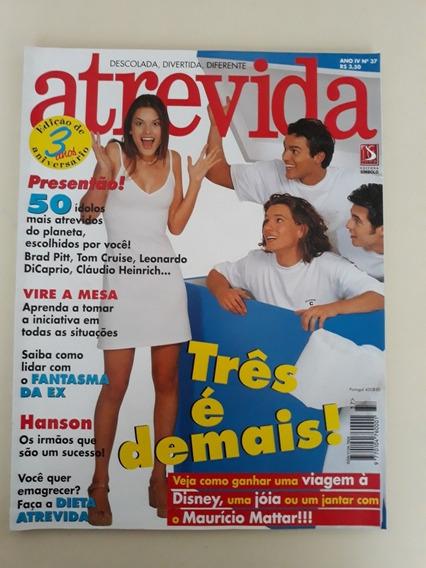 Revista Atrevida Set/1997 Alessandra Ambrósio Aline Moraes