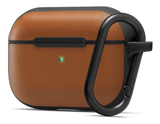 Funda Cyrill Apple AirPods Pro De Cuero Marron Premium