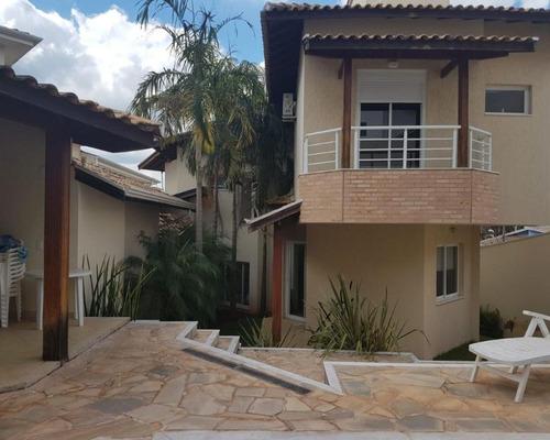 Imagem 1 de 23 de Casa Para Venda No Condomínio Millenium Em Valinhos/sp. - Ca002837 - 67744314