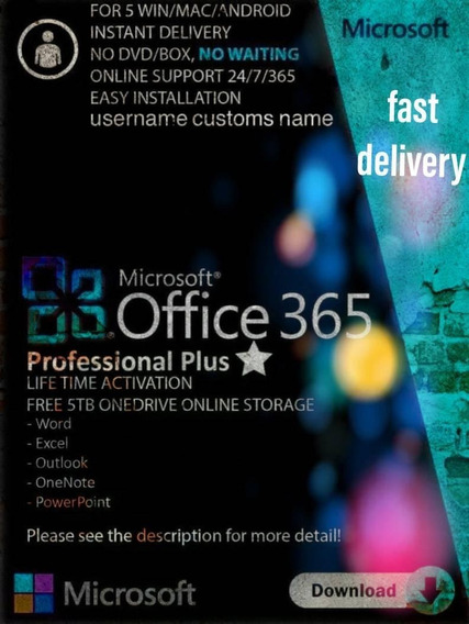 Office 365 Professional Plus Entrega Rapida