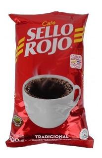 !!oferta!!1kilo+200 Grs Café Sello Rojo (2bolsas 600 Grs)