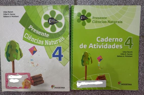 Livro Projeto Presente - Ciências Naturais - 4º Ano