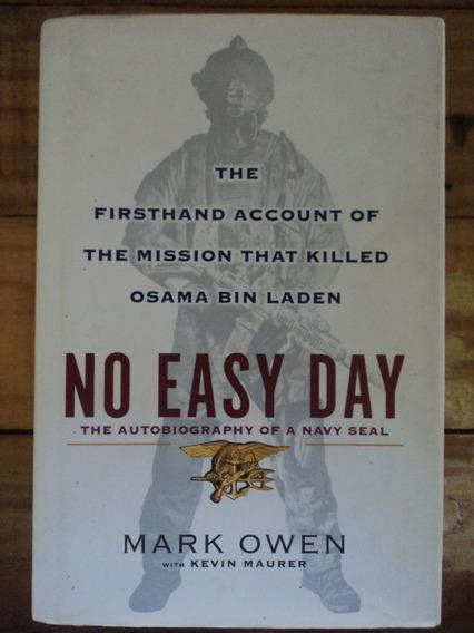 Livro:no Easy Day:biography Of A Navy Seal:mark Owen:inglês