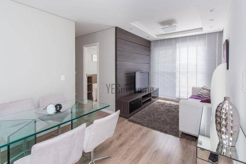 Apartamento Garden Com 3 Dormitórios À Venda, 78 M² Por R$ 353.000,00 - Cidade Industrial - Curitiba/pr - Gd0078