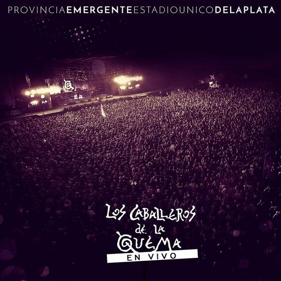 Caballeros De La Quema - En Vivo La Plata - Cd + Dvd Nuevo