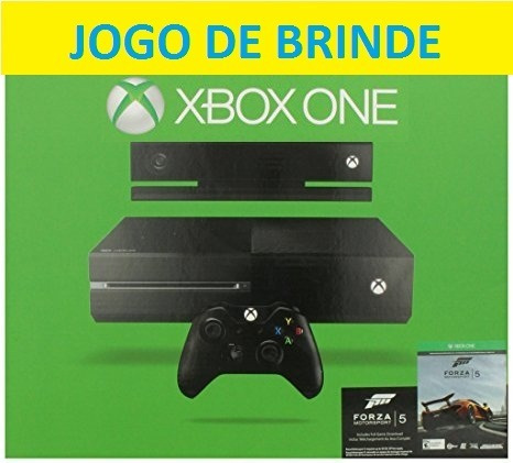 Xbox One 500gb + Kinect + Jogo Forza 5 + Controle + Headset
