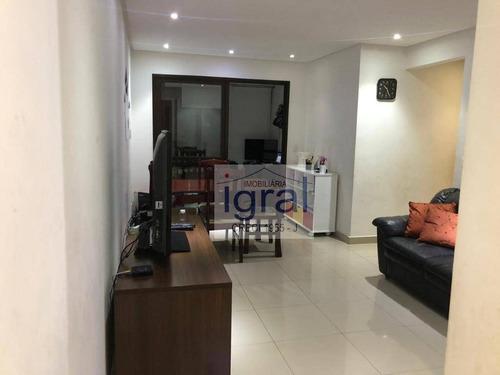 Imagem 1 de 18 de Apartamento À Venda, 74 M² Por R$ 480.000,00 - Vila Guarani (zona Sul) - São Paulo/sp - Ap0985