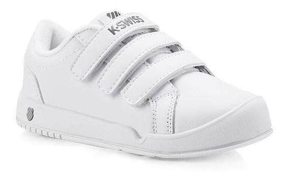 Tenis Casuales K-swiss Unisex Blanco K5f842
