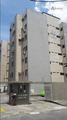 Apartamento Com 3 Dormitórios À Venda, 92 M² Por R$ 335.000 - Graças - Recife/pe - Ap0414