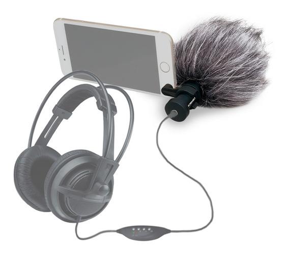 Mic Shtogun P/celular,tablet,samsung,iphone7,8-galaxy S7