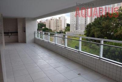 Apartamento Grand Club Vila Ema 182 M2 Aceita Permuta 3 Suítes 03 Vagas - Ap0763