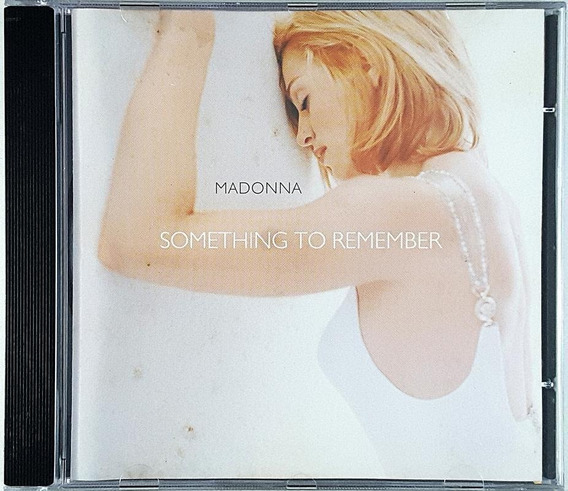 Cd Madonna - Something To Remember - Ia