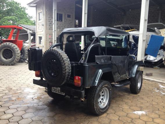 Jeep Ford Cj5 - Troco Por Triton V6!