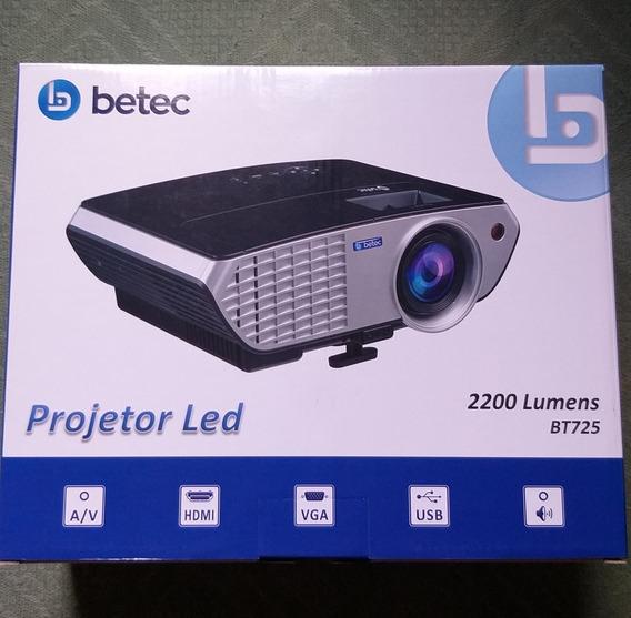 Projetor Led Betec 2200 Lumens Bt725