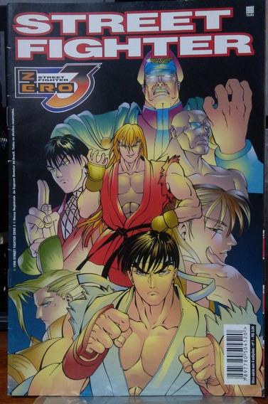 Street Fighter Zero 3 - Mini Série Completa - 4 Edições